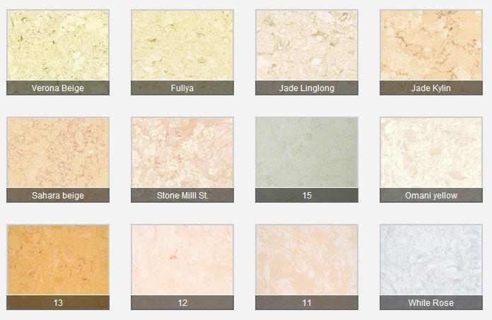 Foto de pedra m rmore artificial de cores personalizadas for Granito artificial