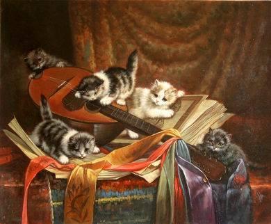 Dipinti ad olio di animali