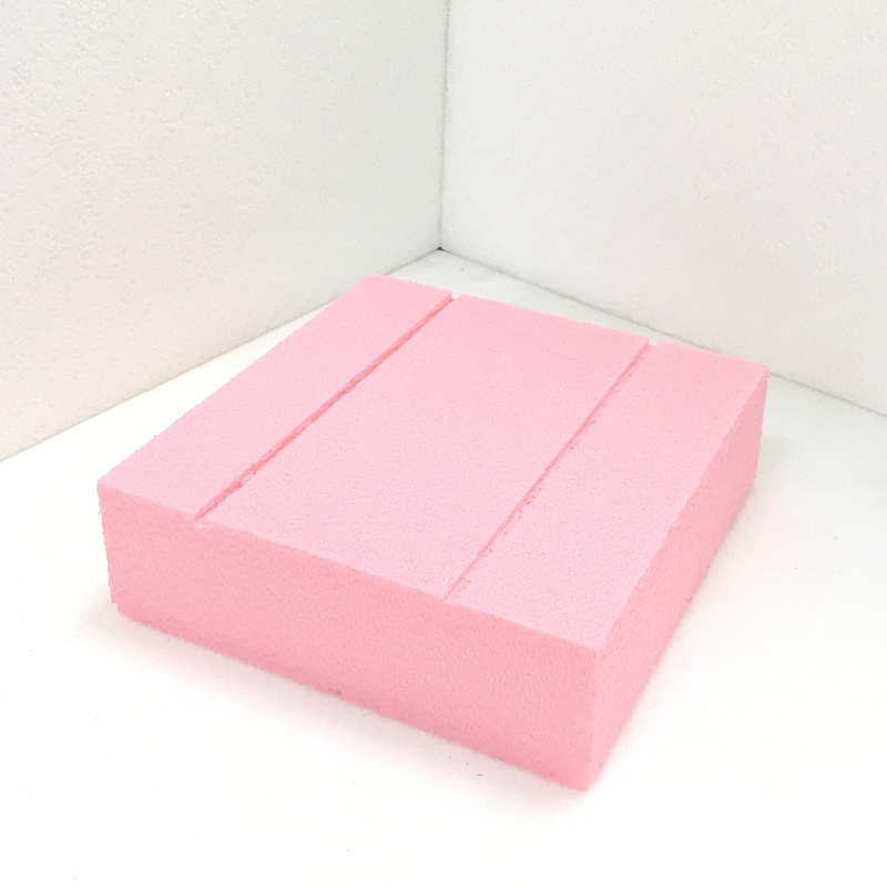 Fuda le polystyrène extrudé (XPS) Conseil de mousse de grade B2 200kpa 25mm épais à fente rose