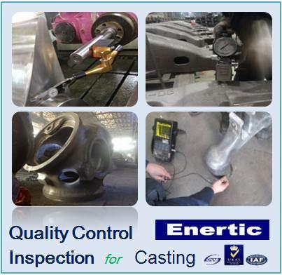 Controle de qualidade e serviço de inspecção para a Fundição