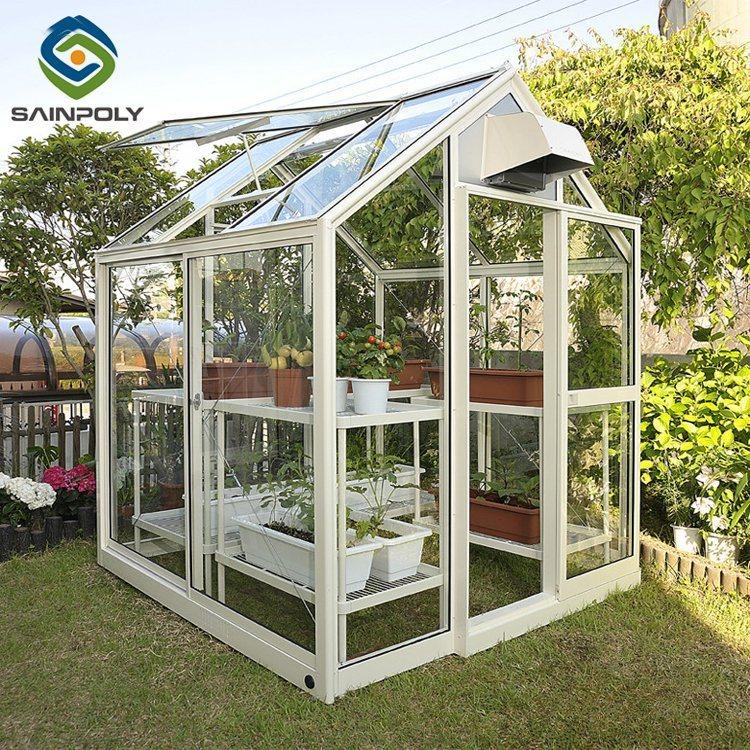 تغذية زجاجيّة مادّيّة حديقة دفيئة لأنّ زراعة