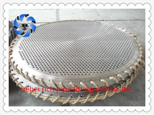Haut de la qualité usine en acier forgé de feuille de tube
