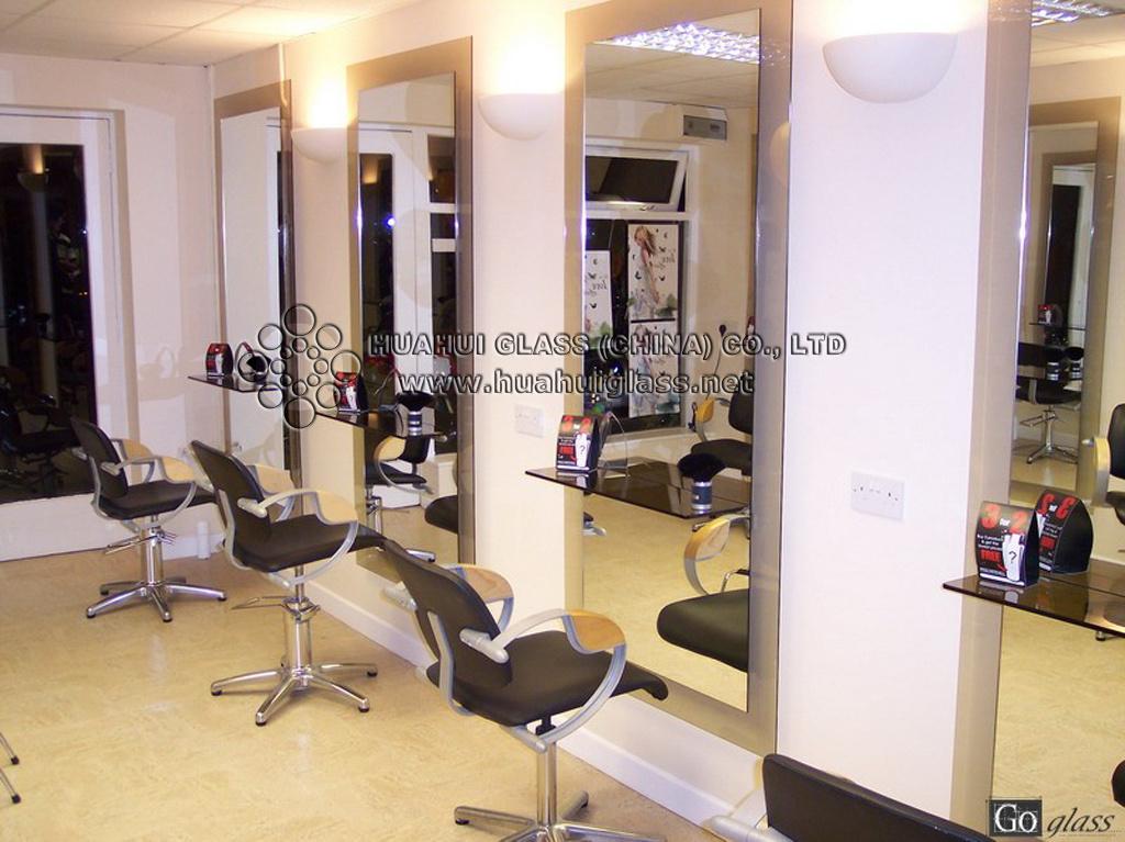 Espejo rectangular de sal n de belleza espejo rectangular de sal n de belleza proporcionado - Espejos para salon ...
