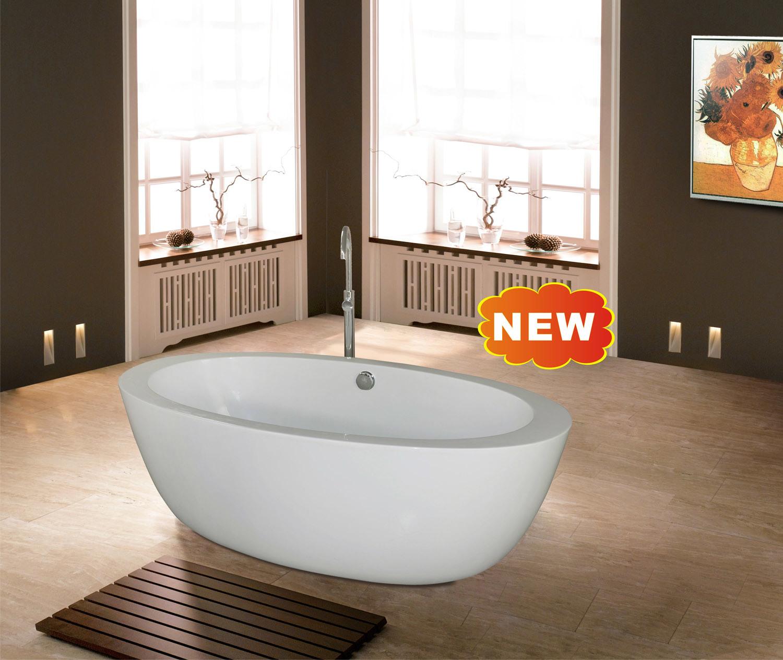Nuova vasca da bagno di disegno moderno bf 6611 nuova - Produzione vasche da bagno ...