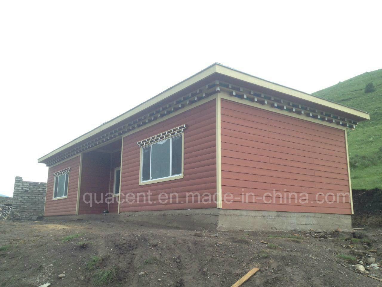 Registro de prefabricados de estilo tibetano casa de madera ...