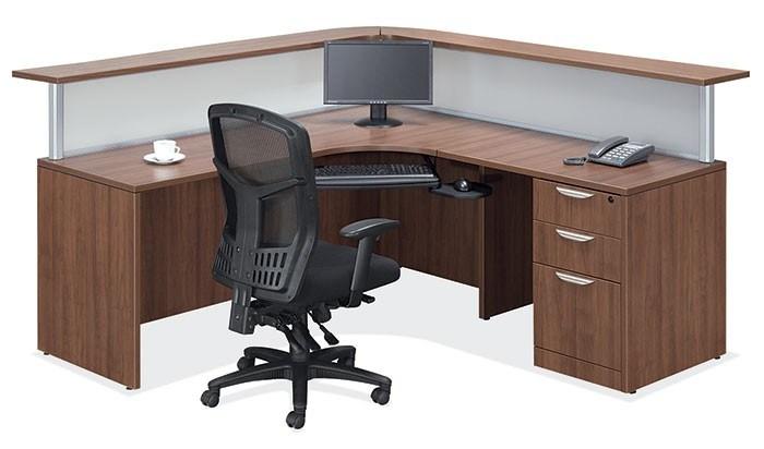 Bureau moderne salon antique table de réception d un bureau de