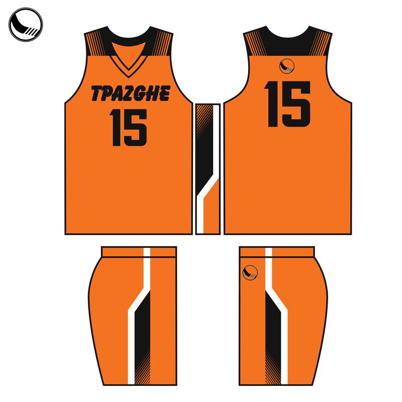 Maglia Da Basket Sportswear Custom Sublimation Men Latest Basketball Uniforms Design