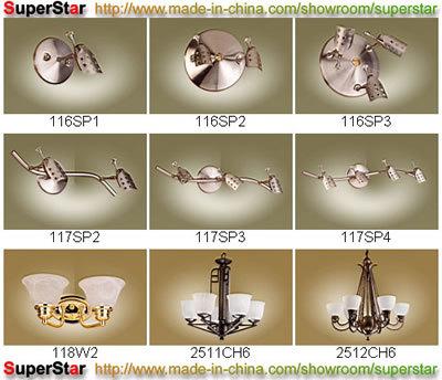 Accesorios de iluminación decorativa: 55-63