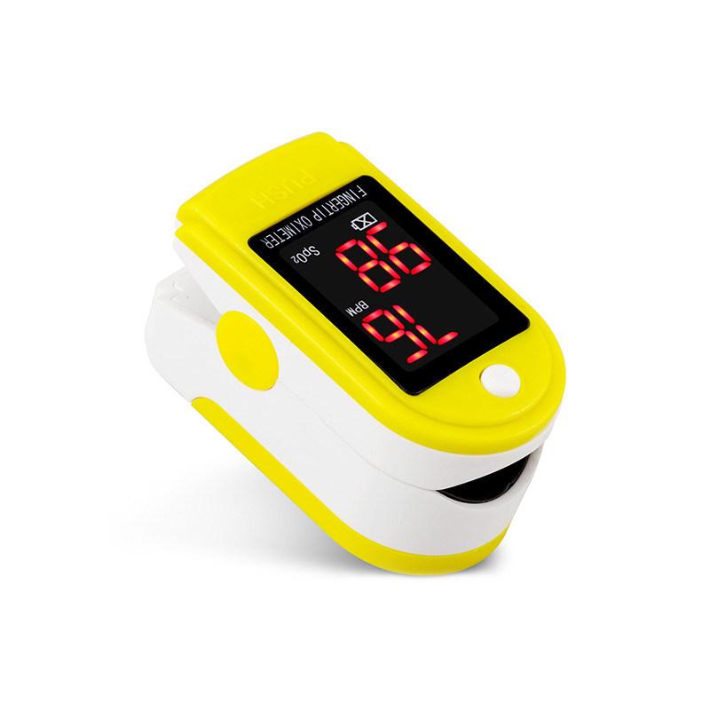 Medische FDA van de Apparatuur keurde Impuls Oximeter van de Goedkope In het groot LEIDENE Vingertop van de Vertoning SpO2 de Digitale goed