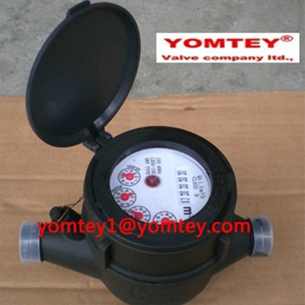 Contador de água útil Multi Jet Medidor de roda de palhetas do tipo seco