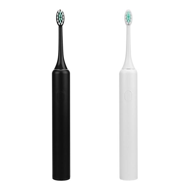 長い電池の寿命および3つのブラシをかけるモードの音波の電動歯ブラシUSBの再充電可能な歯ブラシ防水2つの分のタイマー4の置換ヘッドIpx7