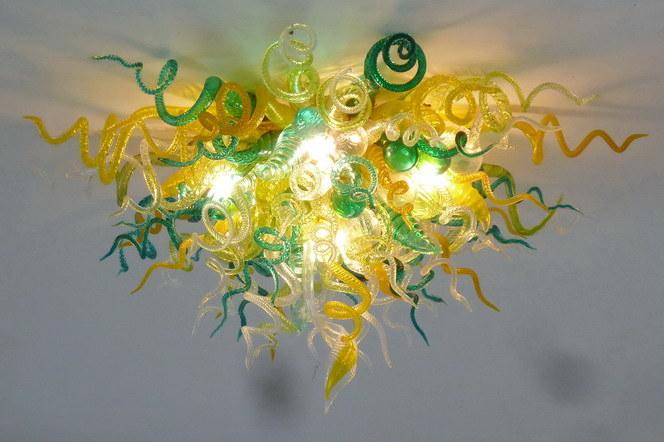 Lampadario a bracci di vetro di arte (XO-201113)