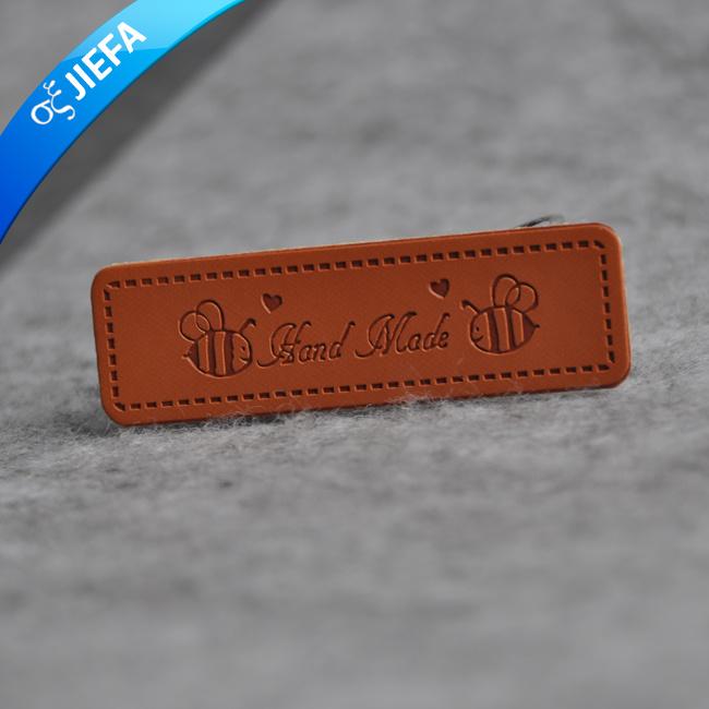 1b76388690 Los hombres de la moda PU personalizada repujados en cuero Jeans ropa de etiqueta  para