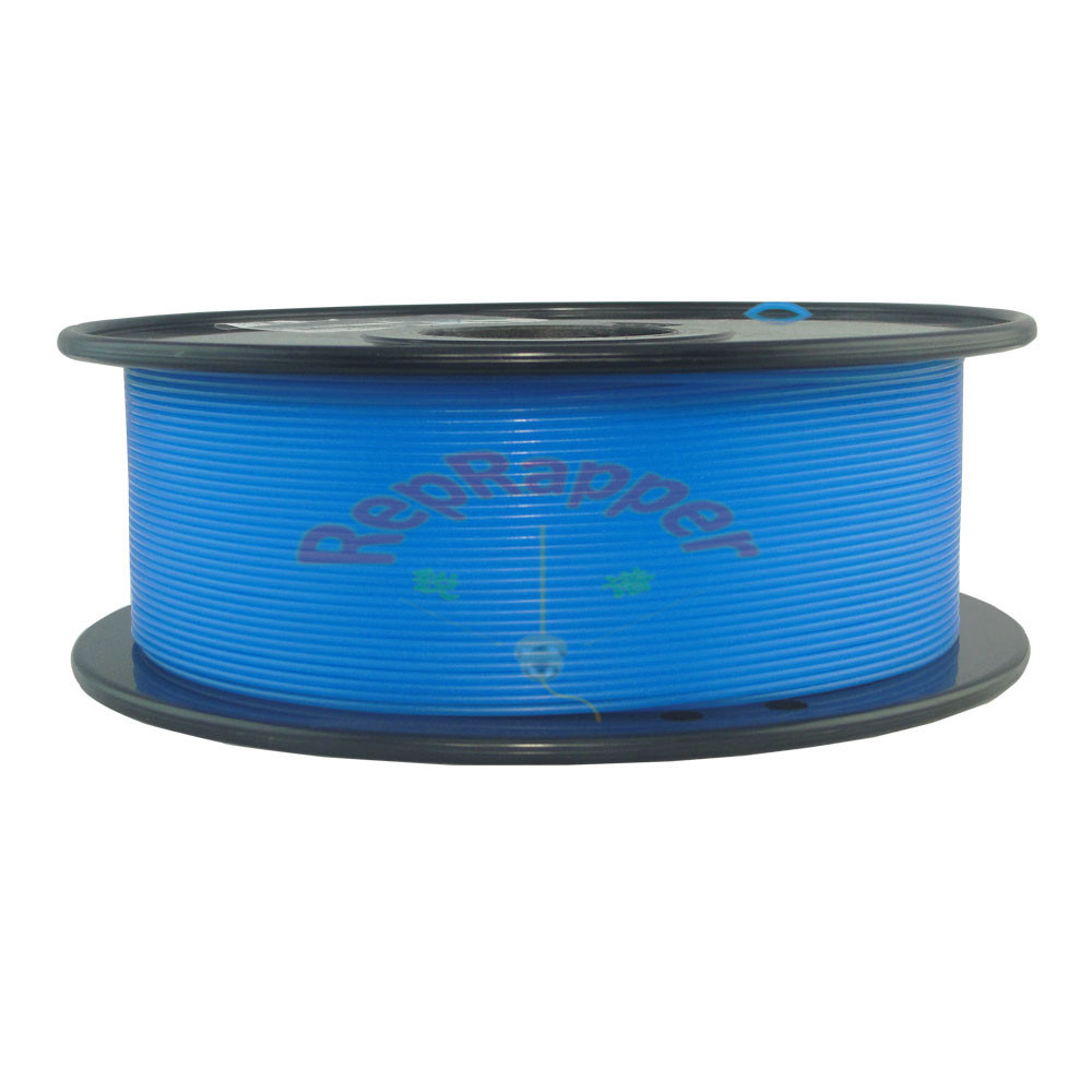 Nylon 3.0mm Glow in The Dunkel-blaues 3D Printing Filament