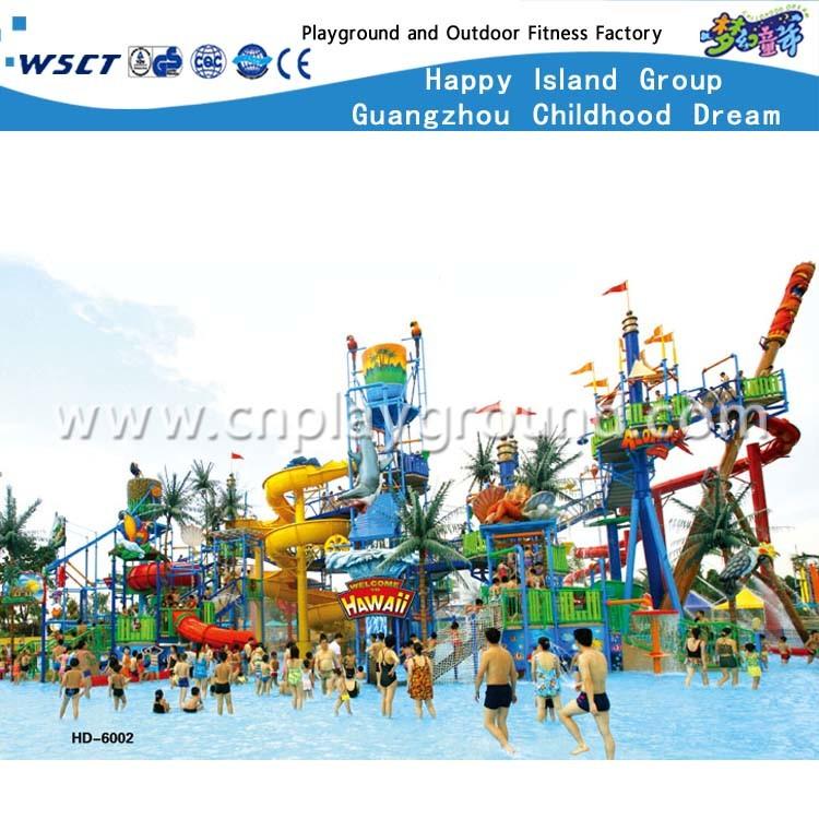 Foto de Aqua Park juego tobogán para niños y adultos (HD-6002) en es ...