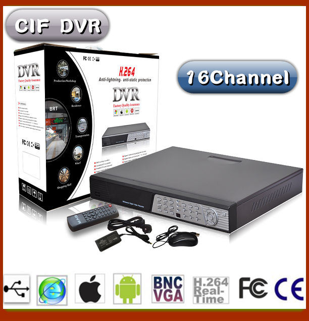 16CH H 264 Forma China Factroy DVR