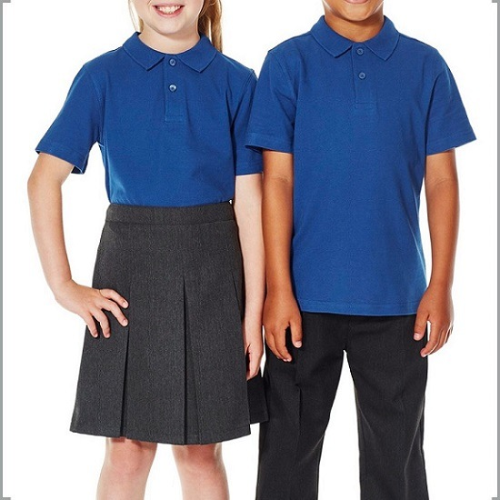 直接工場卸売の男の子および女の子のポロの子供の学生服