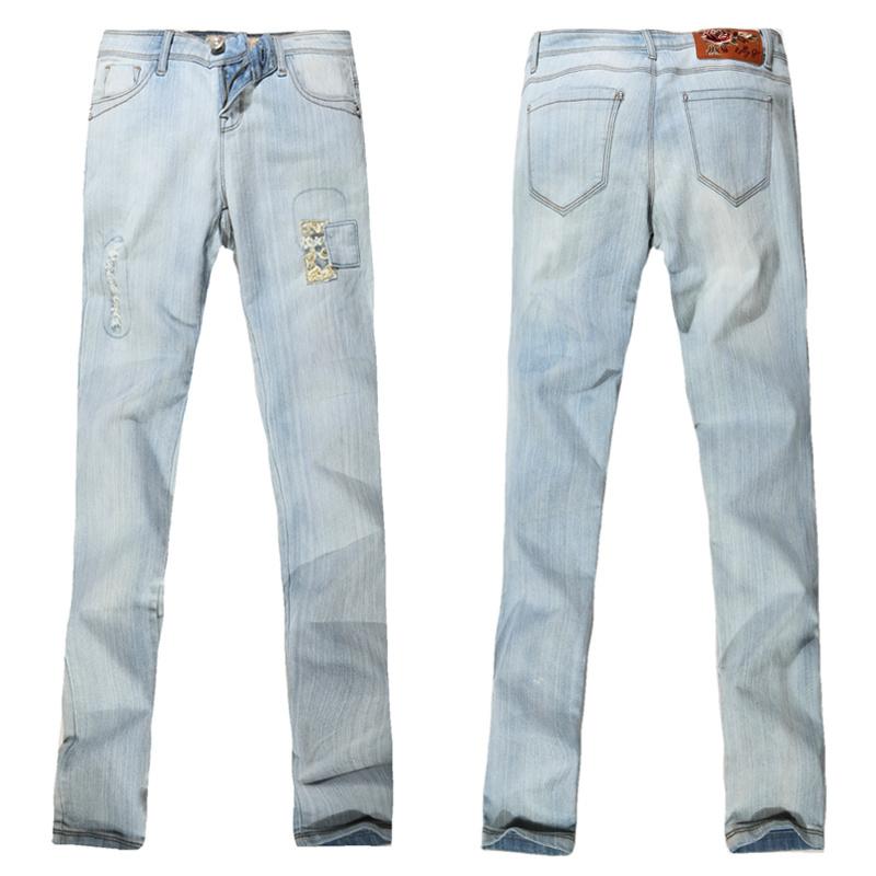 Senhoras' Jeans Bootcut (RG-JE30BNI)