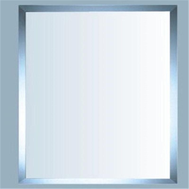 Foto de biselado de espejo del ba o grandes espejos largo for Espejos cuadrados grandes