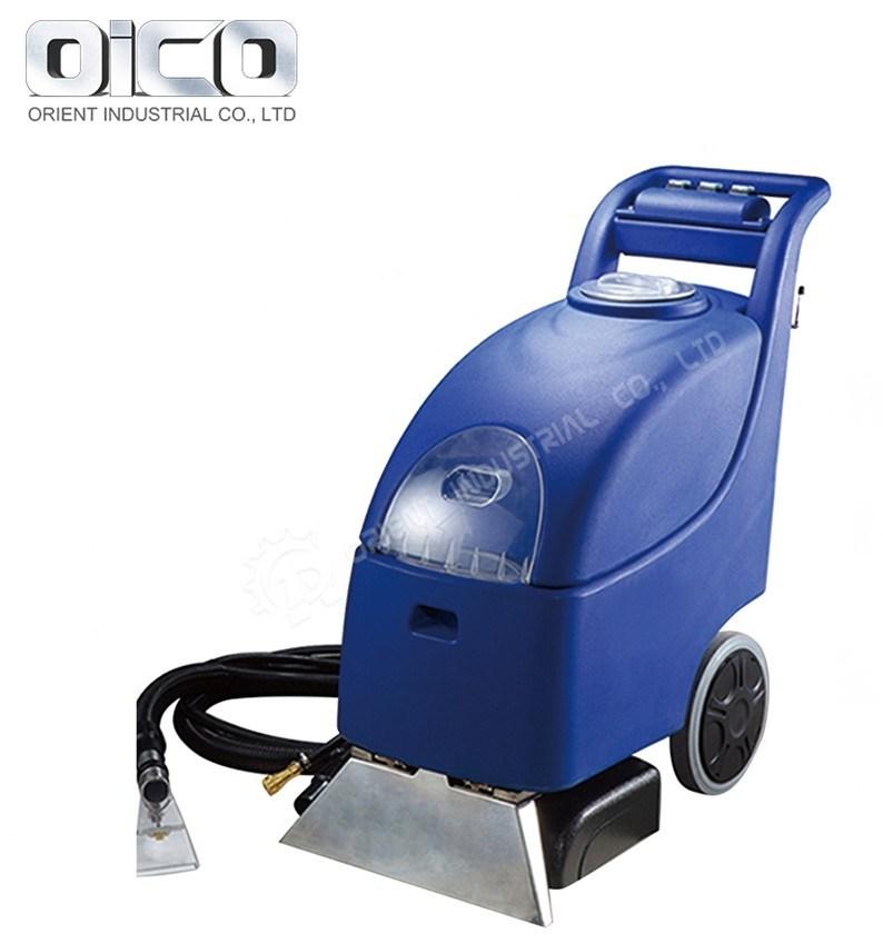 Hot Sale trois automatique-en-un marcher derrière la batterie de tapis commercial extracteur de poussière de la machine du sécheur