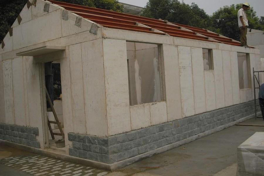 El panel de pared Casa prefabricados