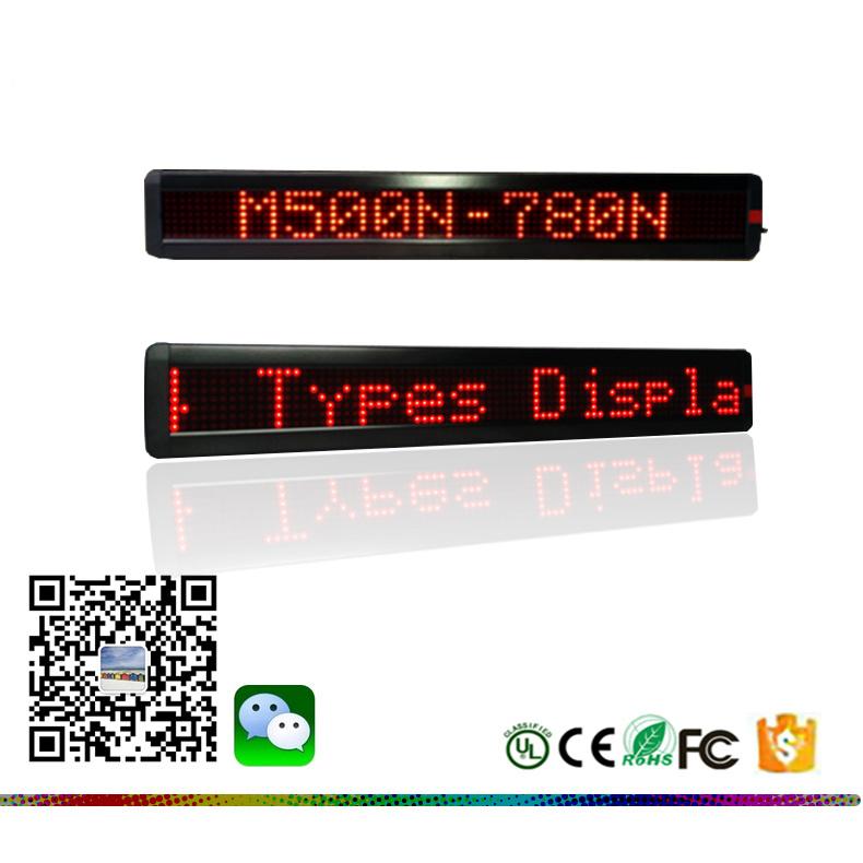 Calientes! X9.7X3.4 65,2cm de luz LED Barra de mensajes Firmar con la visualización de mensajes de Control Remoto Inalámbrico firmar junta