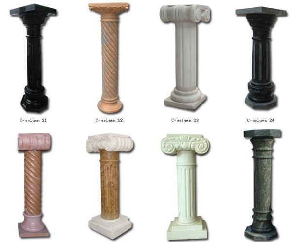 Cilindro greco di marmo colonne di marmo colonna romana for Modelos de marmol y granito