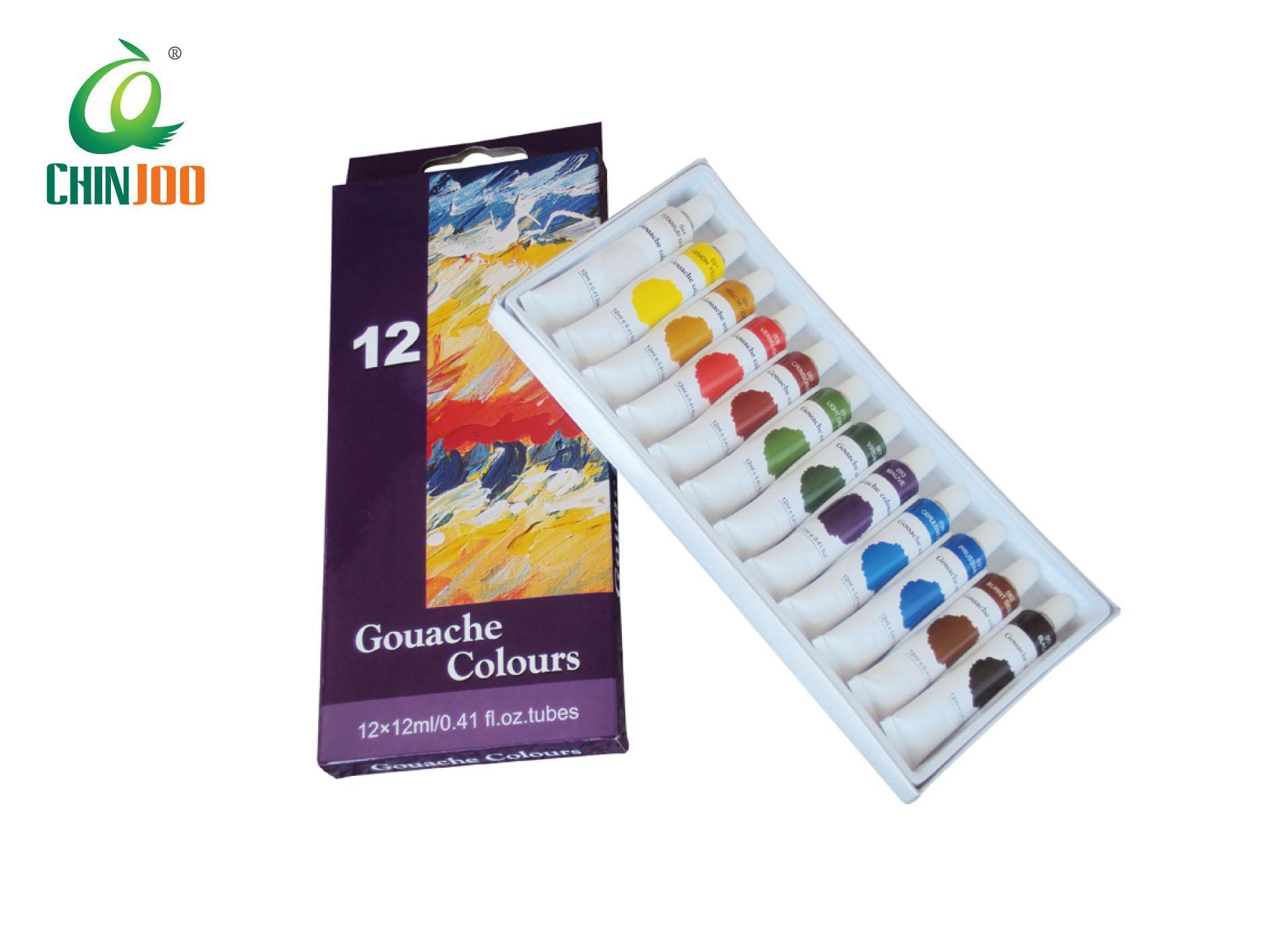 Couleur Peinture Pour Bureau Professionnel chine gouache couleurs, la gouache de peinture de couleur