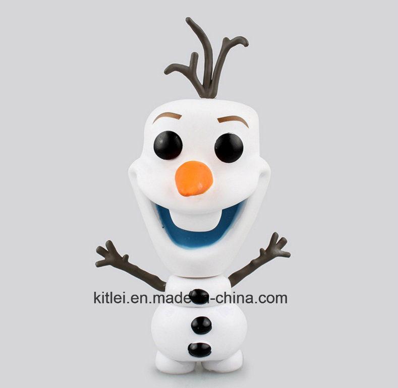 China Personagens De Desenhos Animados De Plastico O Olaf