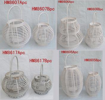 Lanterne en bois (HM8607)