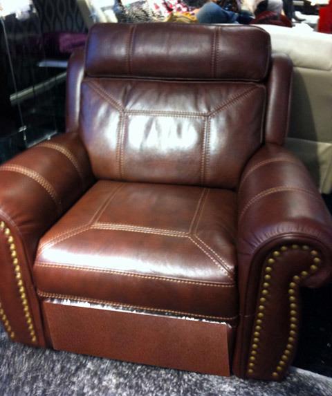 Кресло диван 1705R-кожаный диван 1+2+3