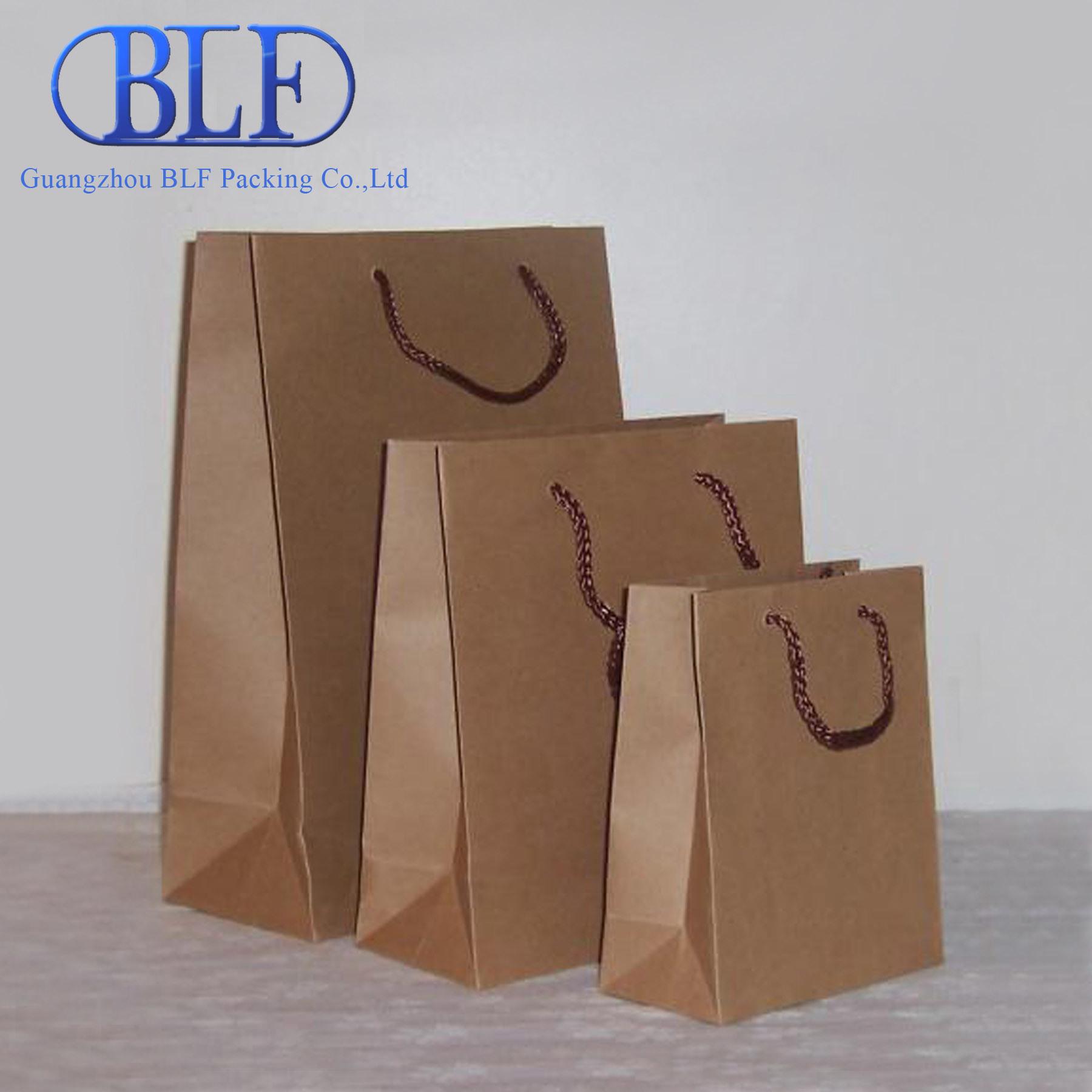 Barato Reciclar sacos de papel Kraft Marrom (BLF-PB054) –Barato ...