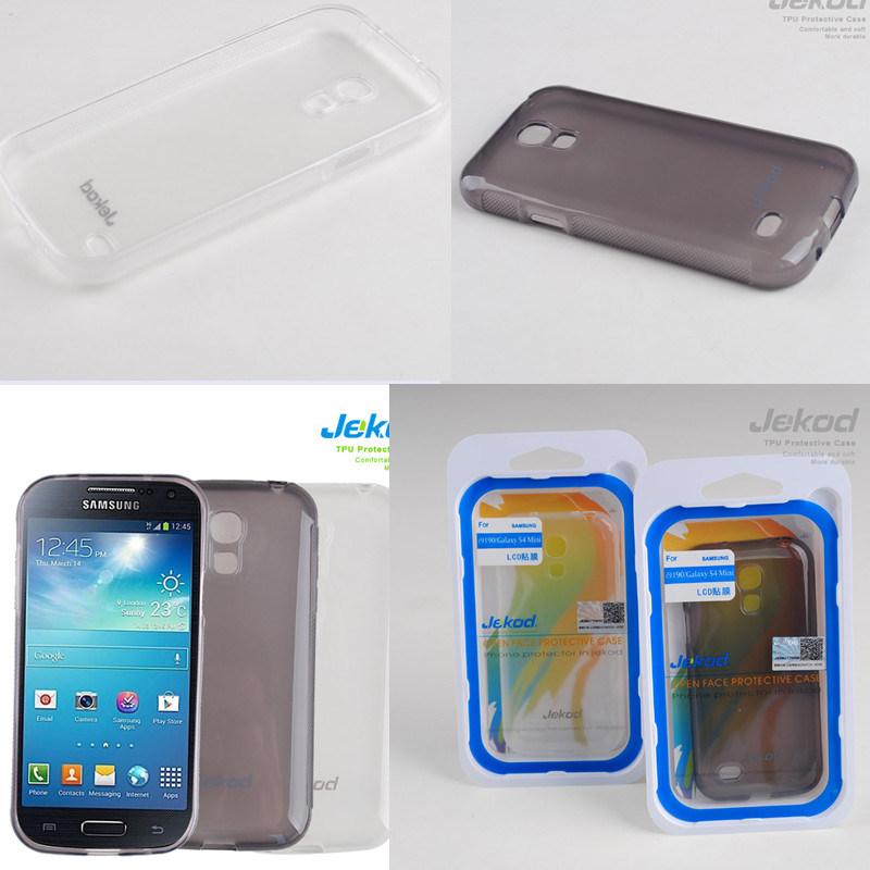 Samsung I9190/S4 Mini 用シリコン携帯電話ケース