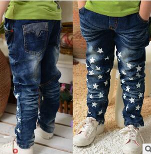 Vestuário de criança Jeans Childrens Jeans Denim novos estilos crianças Jeans