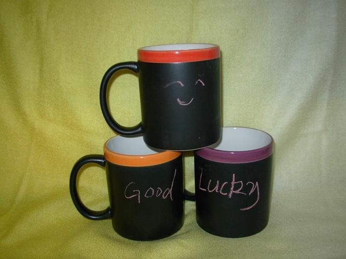 11oz céramique émaillée de couleur Chalk tasse de café (WSY448M)