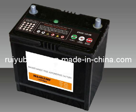 55b24LS/Nx ls100-6JIS / / / batería de coche de la batería sin mantenimiento.
