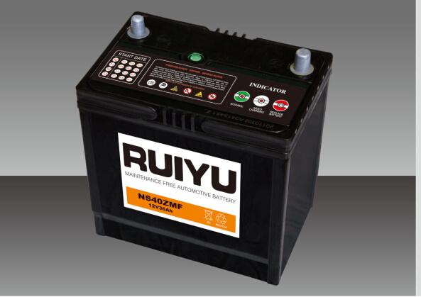 Batteria auto standard JIS da 12 V 36 ah