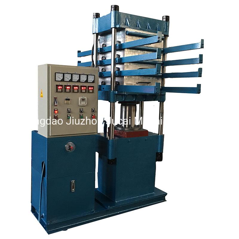 أرضية مطاطية بلاط الفولكانيزماكينة الصحافة / آلة صنع البلاط المطاط