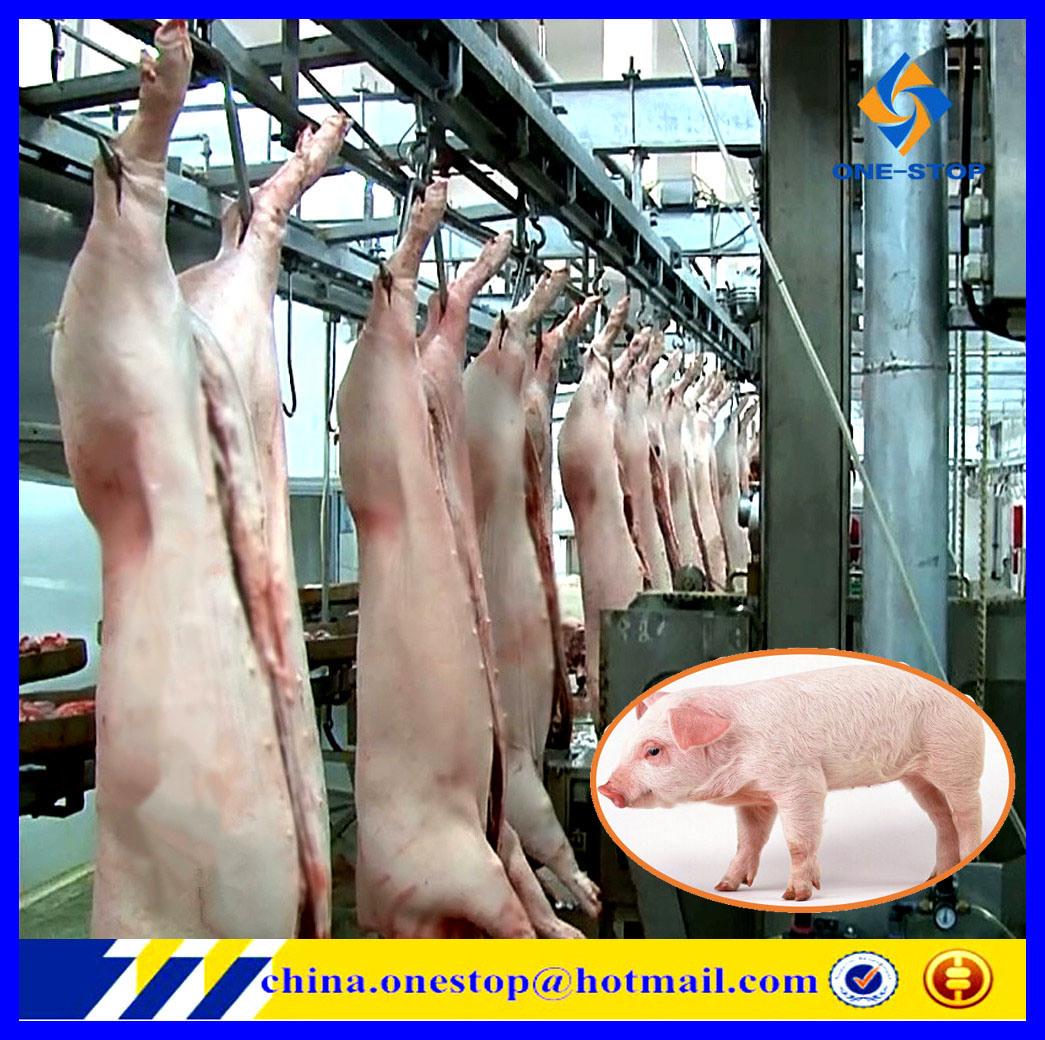 Linea di produzione di macello del maiale macellazione del macchinario della strumentazione