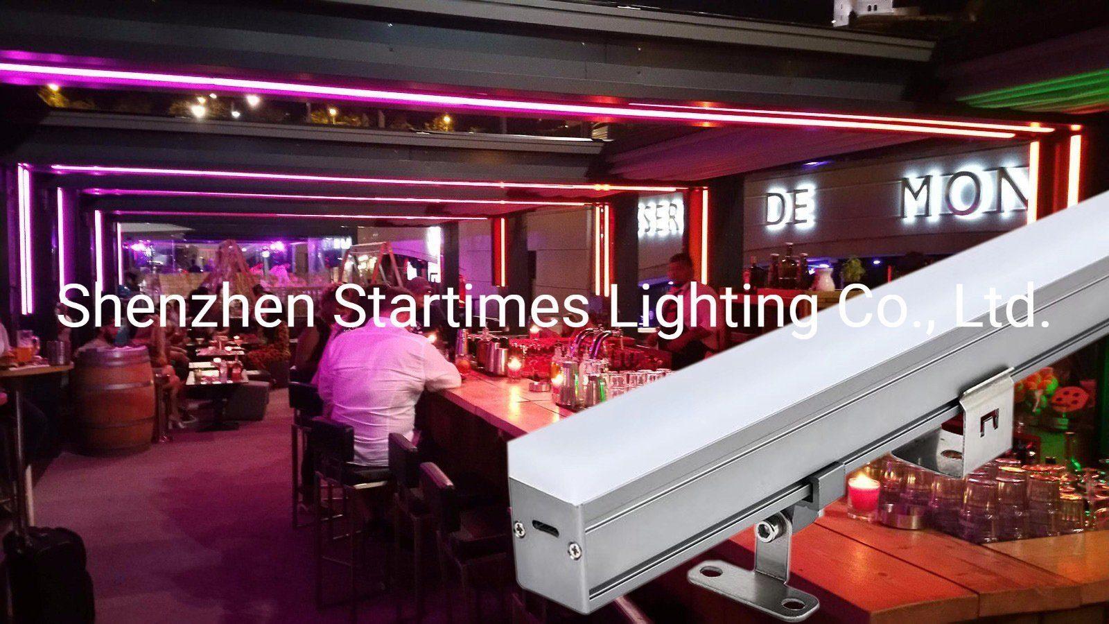 屋外の装飾ライト結婚式の装飾LEDの照明5年の保証アドレス指定可能なLEDピクセル管のMadrix棒ライトクリスマスの