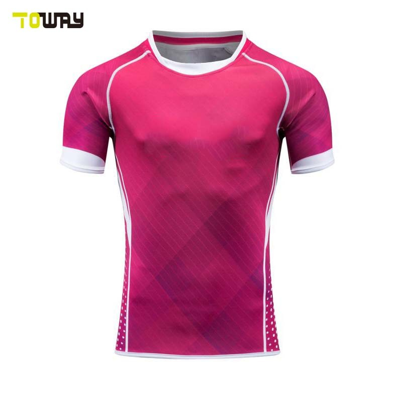 Commercio All'Ingrosso Blank College Sublimated Super Rugby Jerseys