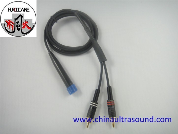 医療用 4MHz 血流センサ、血流測定用 TCD ドプラ流量プローブ