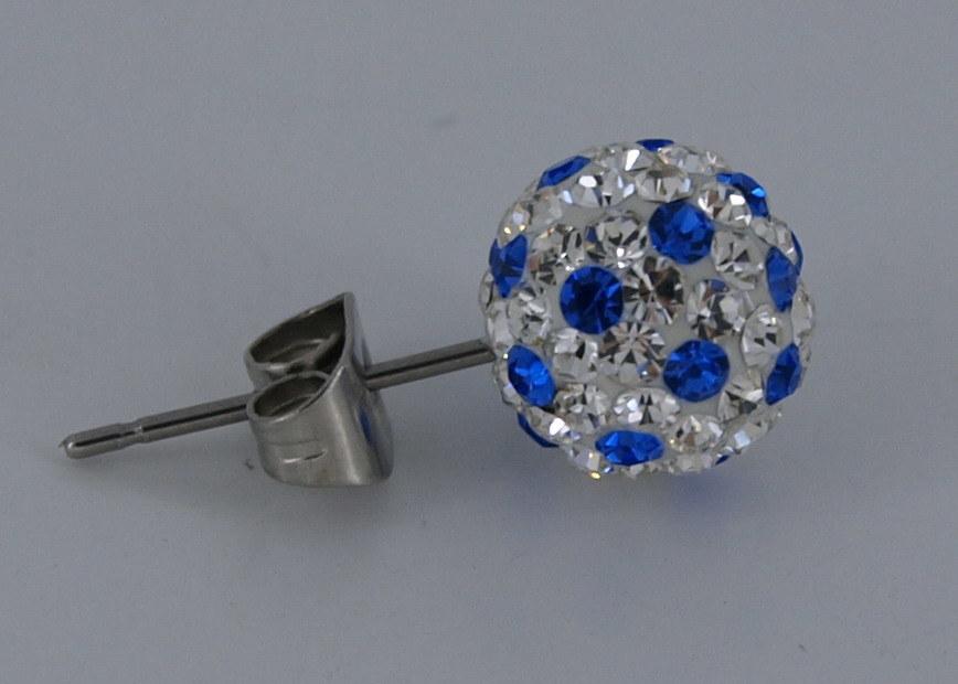 Acciaio inox e gioielli in titanio (6206B)