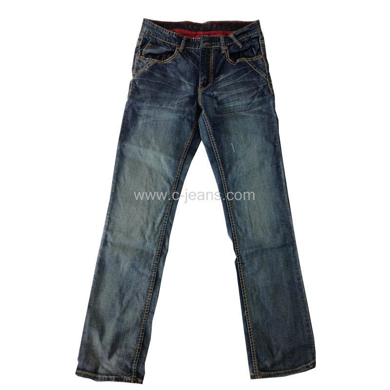 Moda Hombre de Jeans Precio al por mayor jeans de mezclilla