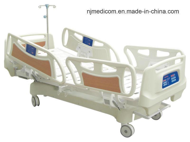 Letto di ospedale elettrico del paziente medico di cinque funzioni