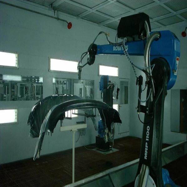 Automático de la línea de revestimiento de parachoques de automóviles
