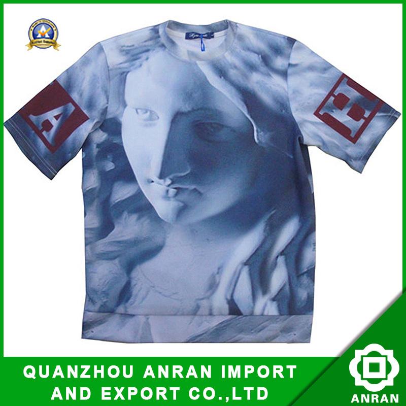 Última moda de diseño de impresión de los hombres T-Shirt (DSC00551)