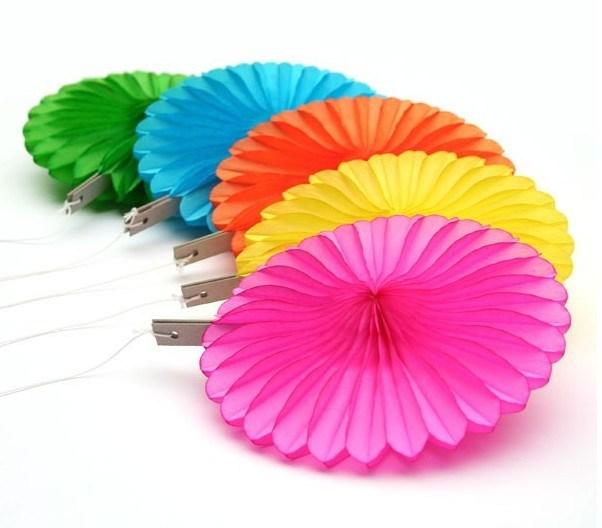 Piccolo Wholesale Order Tissue Paper Fans per All Events e Accasion Decoration