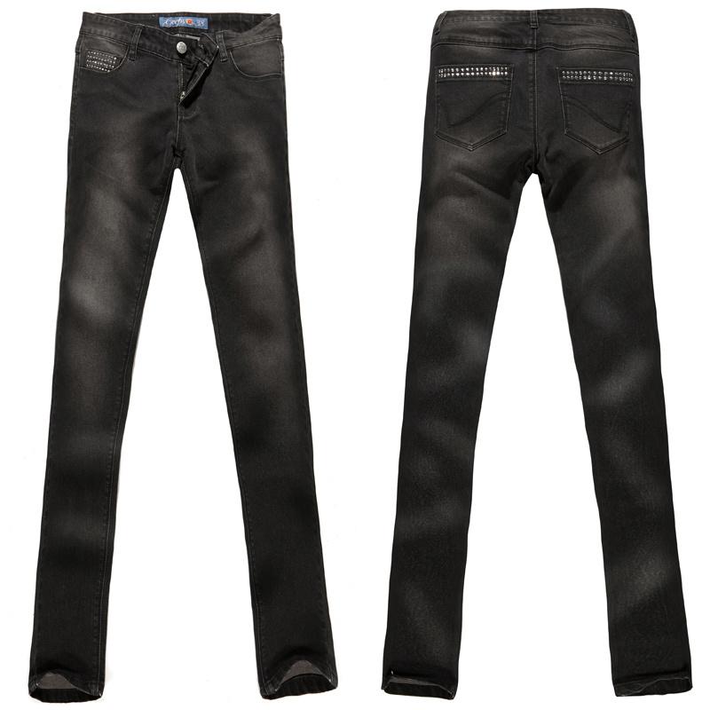 Jeans feminina (G-judeu08LT)