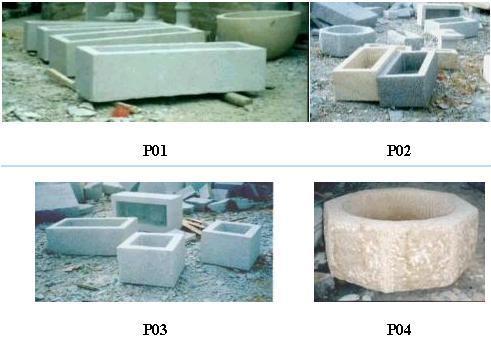 Gardenwares - Pots de fleurs - P01/P02/P03/P04